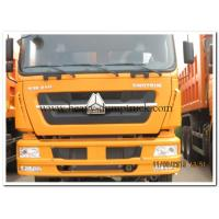 Buy cheap A7 Sinotruk HOWO Tipper Truck Euro 3 and 420 hp for heavy duty transportation from wholesalers