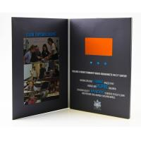 Buy cheap Lcd brochures 7 inch paper business card lcd video invitation/lcd greeting card/video brochure from wholesalers