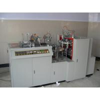 Buy cheap 45-50pcs/Min Paper Cup Forming Machine , White 2-16oz Paper Cup Plate Machine from wholesalers