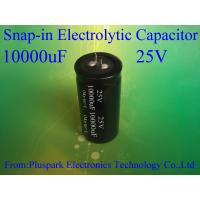 Buy cheap Capacitor 10000UF 25V 20% SNAP IN ,Snap-in Aluminum Electrolytic Capacitor from wholesalers