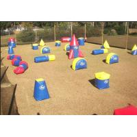 Buy cheap Mobile Outdoor Inflatable Paintball Bunkers For Inflatable Paintball Arena from wholesalers