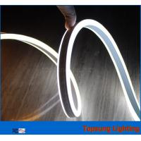 Buy cheap 12V double side white led neon flexible rope for decoration from wholesalers