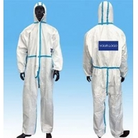 Buy cheap Anti Pollution XXL XXXL Waterproof Disposable Coveralls product