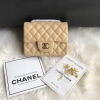 China CHANEL designer bag CF mini 17cm black chain bag phone bag high quality replica cheap 6 color on sale
