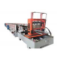 Buy cheap Warehouses Building Cable Tray Roll Forming Machine 600mm Material Max Width from wholesalers