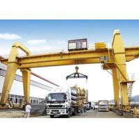 Buy cheap 40 50 100 Ton Double Girder Gantry Crane Rail Mounted 18 - 35m Span Optional Color from wholesalers