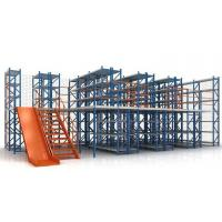 Buy cheap High Capacity with Competitive Price Warehouse Storage Multi-level Mezzanine Racking for Warehouse Storage from wholesalers