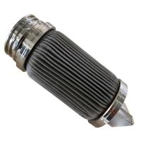 Buy cheap 316L 20 Inch 10 Micron Filter Element For Polyester Filter Good Air Permeability from wholesalers