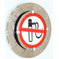 Buy cheap Contemporary Speed Light Electronic Time Clocks With Stop Smoking Signs For Office from wholesalers