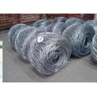 Buy cheap Hot Dipped Galvanized Flat / Concertina Barbed Wire Reverse and Normal Twist from wholesalers