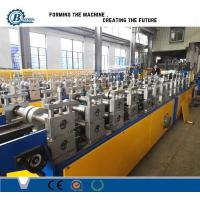 Buy cheap Light Weight Truss Furring Channel Steel Roll Forming Machine With Non Stop Cutting from wholesalers