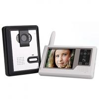 Buy cheap 2.4GHz Wireless 3.5 Inch Touch Screen Monitor Video Door Phone with Camera from wholesalers