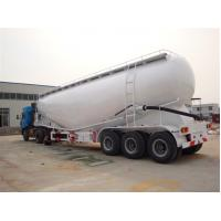 Buy cheap concrete transport semi trailer, Cement Bulk Semi Trailers, bulk powder truck trailer from wholesalers