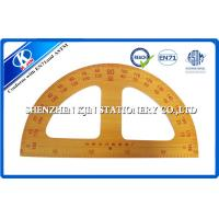 Buy cheap Long Wooden Teaching Ruler Set Protactor Setsquare Compasses For Teacher 50cm from wholesalers