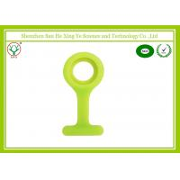 Buy cheap Eco - Friendly Soft Yellow Silicone Rubber Nurse Watch Band 24mm / 16mm from wholesalers