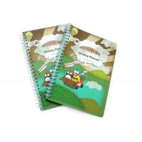 Buy cheap PP Cover Memo Pad Custom Spiral Notebooks With A6 / A5 / A4 Lined Paper from wholesalers
