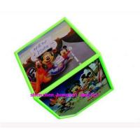 Buy cheap Rotating  cube photo frame from wholesalers