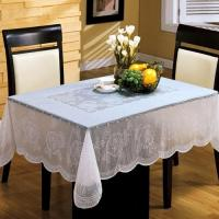 Buy cheap White PVC Table Cloth Easy Clean , Elegant Table Cover For Dining Room from wholesalers