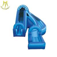 Buy cheap Hansel  giant inflatable slide for sale inflatable water park for backyard from wholesalers