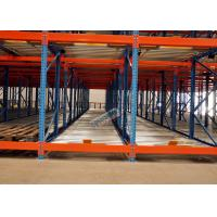 Buy cheap Freezers Pallet Flow Racking Maintenance Free , Material Handling Racks FIFO Operated product