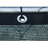 Buy cheap 130g-200 gsm Dark Green Windscreen Mesh Fabric With Reinforced Hems / Corners / Eyelets from wholesalers