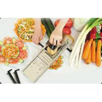 Buy cheap Stainless Steel 3 Cutters Mandolin Vegetable Slicer Machine, Equipment With 0.3-10mm Thick from wholesalers