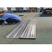 Aluminum Stair Sheet Roll Forming Machine 8-12m/Min 24Mpa Chain Driving
