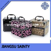 Buy cheap Small size beautiful printing PVC hard side cosmetic case from wholesalers