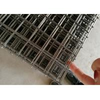 Buy cheap Black Annealed 1x2 Steel Bar Iron Welded Wire Mesh Panels Building from wholesalers