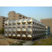 Buy cheap Large Water Stainless Steel Water Tanks For Fire Water With ISO9001 from wholesalers