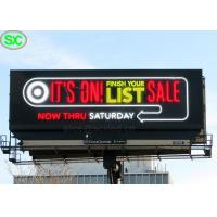 Buy cheap Ultra Thin RGB P6 P8 IP65 Led Advertising Billboards With 8 Years Warranty from wholesalers