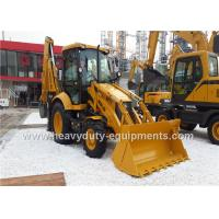 Buy cheap 1800kg SDLG Backhoe Loader B877 Equipment For Road Construction Low Fuel Consumption from wholesalers