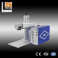 Buy cheap Stainless Steel Air Cooling Fiber Laser Marking Machine 220V / 50Hz / 5A-10A from wholesalers
