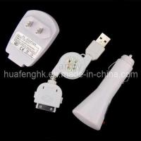 Buy cheap 3 in 1 Charger for iPhone 4S 4G (HFC-54) from wholesalers