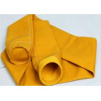 Buy cheap Needle felt micron P84 filter fabric industrial dust collector filter bags from wholesalers