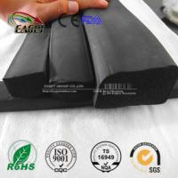Buy cheap flat rubber gasket seal;rectangular shaped rubber extrusion seal from wholesalers
