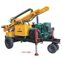 Buy cheap Gold Mining Equipment  Full Pneumatic Crawler Drilling Rig Hydraulic Rotary Geotechical Drilling Rigs from wholesalers