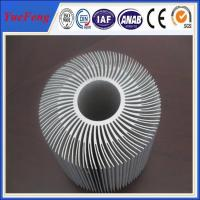 Buy cheap Extruded Aluminum Round Heat Sink,Sunflower Heat Sink New Design from wholesalers