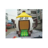 Buy cheap Attractive Fire Resistant Teapot X Inflatable Bouncer With CE / UL Blower from wholesalers