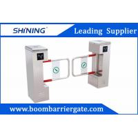 Buy cheap RFID Rust - Proof Security Swing Barrier Gate Bi-Direction For Office Center from wholesalers