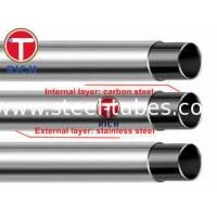 Buy cheap GB/T 18704 Stainless Steel pipe Clad Steel Pipe 302 304 12Cr17Mn6Ni5N from wholesalers