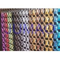 Buy cheap Aluminium Metal Chain Link Curtains Insect Fly Door Blinds Screen Pest Control from wholesalers