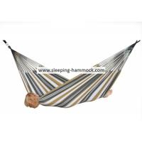 Buy cheap Palm Collapsible Lounge Durable Sturdy Brazilian Style Hammock Sunset Stripe 250 X 175 Cm from wholesalers