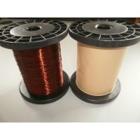Buy cheap Polyurethane AWG Ultra Fine Flat Super Enamelled Copper Wire For Winding from wholesalers