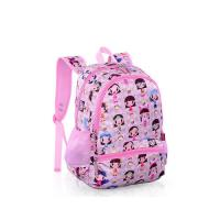 Buy cheap Cartoon Character Printed School Rucksack BagsPink Recyclable For Kids from wholesalers