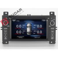 Buy cheap Jeep Grand Cherokee Dvd Player , Double Din Car Stereo With Gps And Bluetooth product