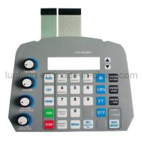 Buy cheap DIY 5 Pin Connector 4 Key Matrix Control Keypad Flat Membrane Switch from wholesalers
