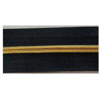 Buy cheap No.5 Long Chain Black Nylon Zipper Roll For Luggage , Sleepbag , Tent from wholesalers