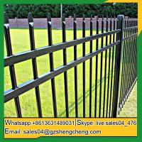 Buy cheap Lake Darlot garden steel fence Home cheap wrought iron fence panels for sale from wholesalers