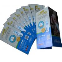 Buy cheap Custom Folding Brochure Advertising Flyer Foldable Flyers Leaflet Printing from wholesalers